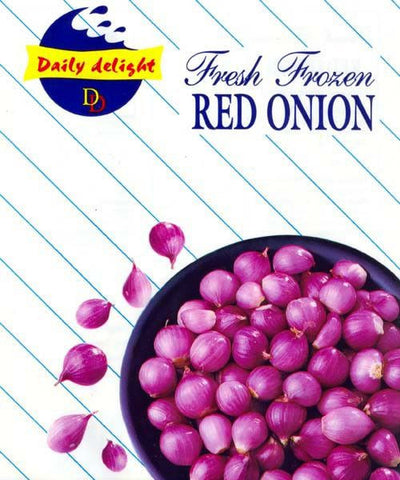 Daily Delight Red Onion 450 GM Default Title - Sabadda - Indian Online Grocery Store in UK