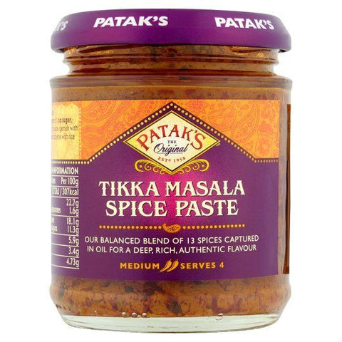 Patak's Tikka Masala Spice Paste 283 gm - Sabadda - Indian Online Grocery Store in UK