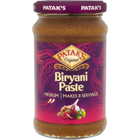 Patak Biryani Paste 283gm Default Title - Sabadda - Indian Online Grocery Store in UK
