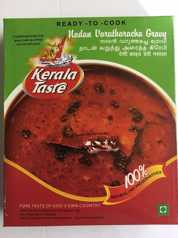 Kerala Taste Nadan Varuthara Gravy 300 GM - Sabadda - Indian Online Grocery Store in UK