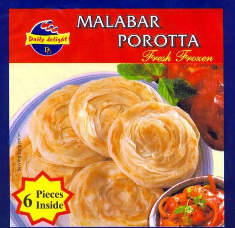 Daily Delight Malabar Porotta 330 gm - Sabadda - Indian Online Grocery Store in UK