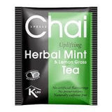 Xpress Chai Uplifting Herbal Mint and Lemon Grass Tea 80 gm - Sabadda - Indian Online Grocery Store in UK