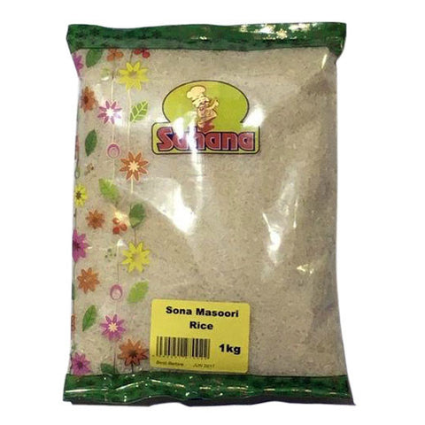 Sahana Sona Masoori Rice 1 kg - Sabadda - Indian Online Grocery Store in UK