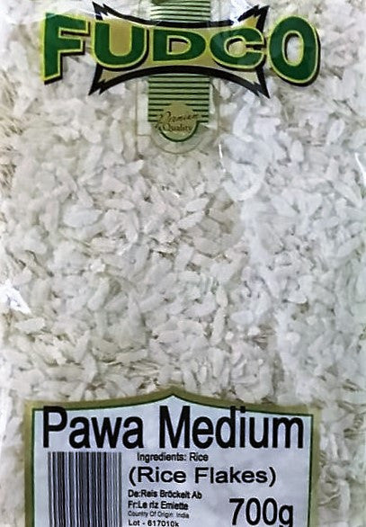 Fudco Pawa Medium (Rice Flakes) 700 gm - Sabadda - Indian Online Grocery Store in UK
