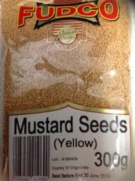 Fudco Mustard Seeds Yellow 300 GM - Sabadda - Indian Online Grocery Store in UK