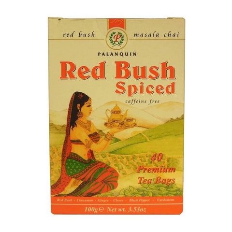 Palanquin Red Bush Spiced Tea 40 Sachets - Sabadda - Indian Online Grocery Store in UK