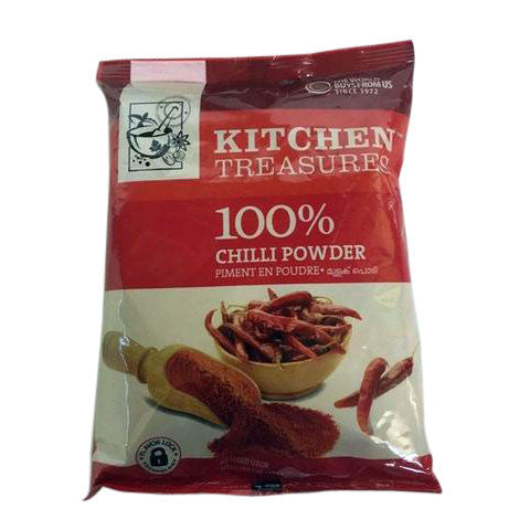 Kitchen Treasures Chilli Powder 400 gm - Sabadda - Indian Online Grocery Store in UK