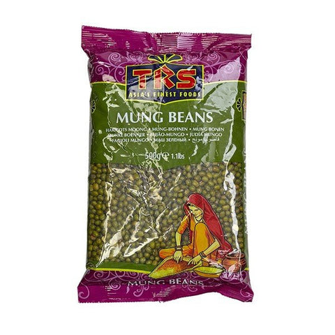 TRS Mung Whole (Mung Beans) 500 gm - Sabadda - Indian Online Grocery Store in UK