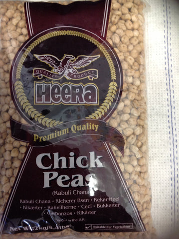 Heera Chick Peas 2 kg - Sabadda - Indian Online Grocery Store in UK