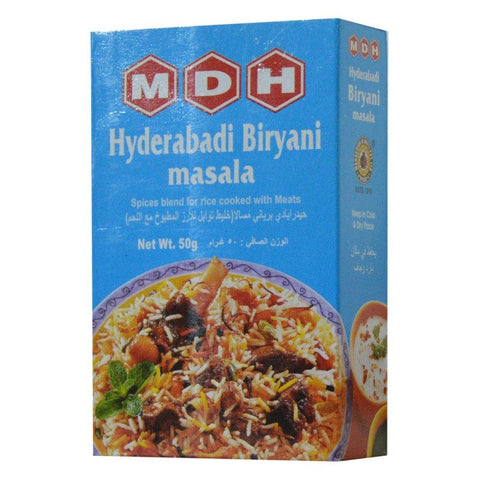 MDH Hyderabadi Biryani Masala 50 gm - Sabadda - Indian Online Grocery Store in UK