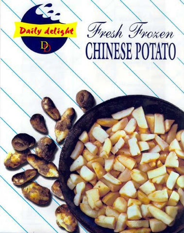 Daily Delight Fresh Frozen Chinese Potato 400 gm - Sabadda - Indian Online Grocery Store in UK