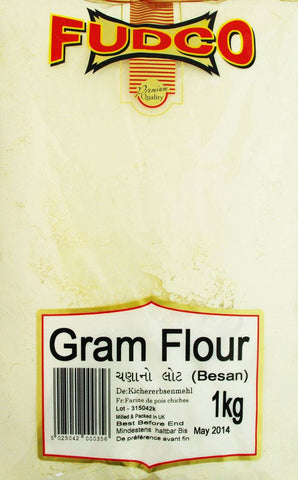Fudco Gram Flour Besan 1 kg - Sabadda - Indian Online Grocery Store in UK