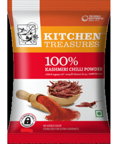 Kitchen Treasures Kashmiri Chilli Powder 250 gm - Sabadda - Indian Online Grocery Store in UK