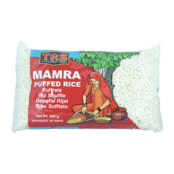 TRS Mamra Puffed Rice 400 gm - Sabadda - Indian Online Grocery Store in UK