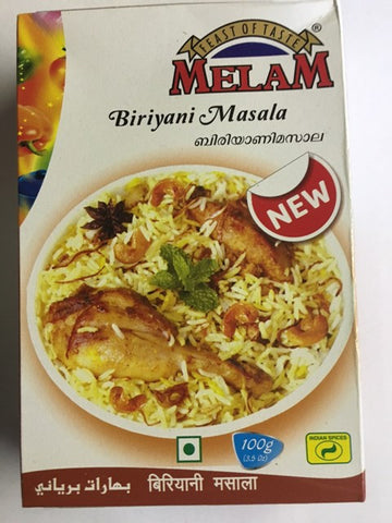 Melam Biryani Masala 100 gm Default Title - Sabadda - Indian Online Grocery Store in UK