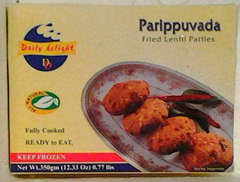 Daily Delight Parippuvada 350 GM Default Title - Sabadda - Indian Online Grocery Store in UK