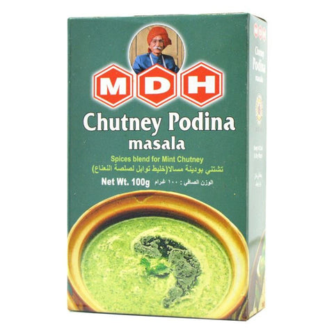 MDH Chutney Podina Masala 100 gm - Sabadda - Indian Online Grocery Store in UK