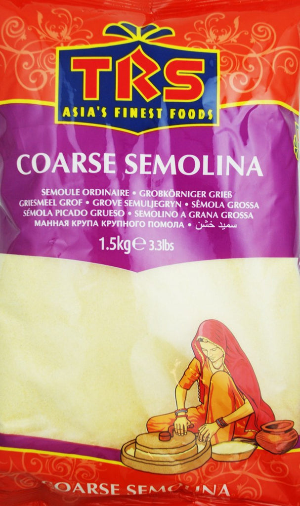 TRS Semolina Coarse 1.5kg - Sabadda - Indian Online Grocery Store in UK