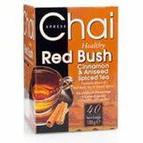 Xpress Chai Healthy Red Bush Cinnamon and Aniseed Spiced Tea 100 gm - Sabadda - Indian Online Grocery Store in UK