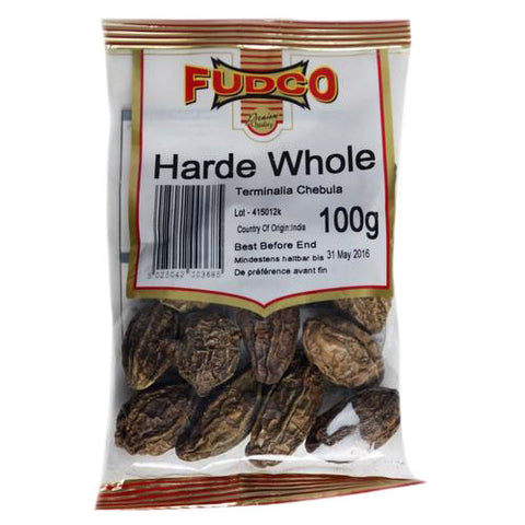 Fudco Harde Whole 100 gm - Sabadda - Indian Online Grocery Store in UK