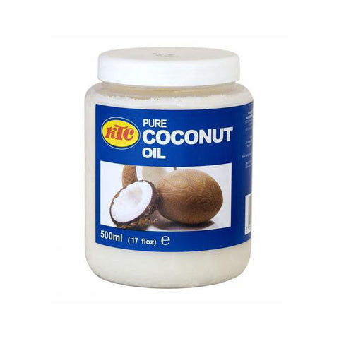 KTC Pure Coconut Oil 500 ml - Sabadda - Indian Online Grocery Store in UK