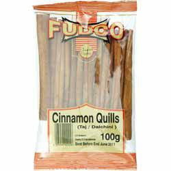 Fudco Cinnamon Quills 100 gm - Sabadda - Indian Online Grocery Store in UK