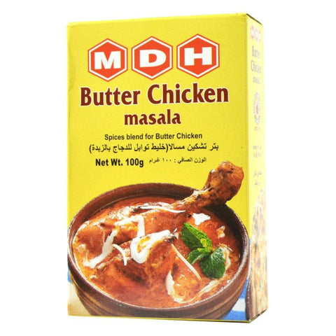 MDH Butter Chicken Masala 100 gm Default Title - Sabadda - Indian Online Grocery Store in UK