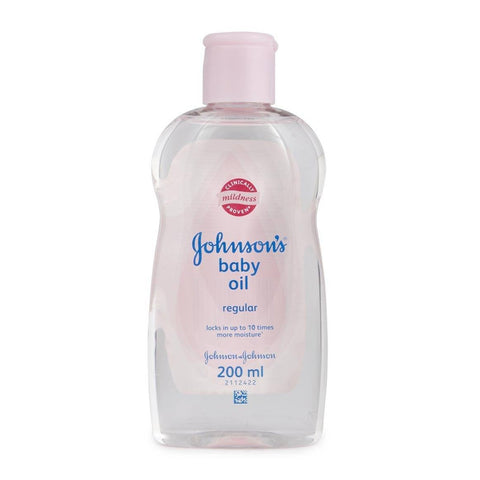 Johnson's Baby Oil 200 ml Default Title - Sabadda - Indian Online Grocery Store in UK