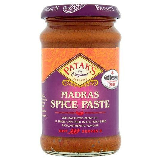 Patak Madras Curry Paste 283gms - Sabadda - Indian Online Grocery Store in UK