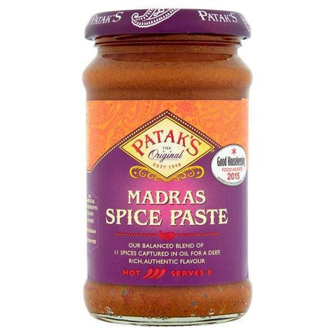 Patak Madras Spice Paste 283 gm - Sabadda - Indian Online Grocery Store in UK