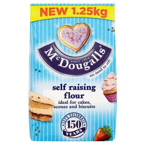 Mc Dougalls Self Raising Flour 1.25 kg Default Title - Sabadda - Indian Online Grocery Store in UK