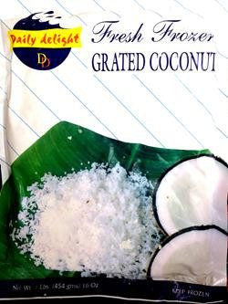 Daily Delight Grated Coconut 400 GM Default Title - Sabadda - Indian Online Grocery Store in UK
