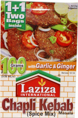 Laziza Chapli Kabab 100 gm - Sabadda - Indian Online Grocery Store in UK