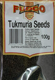 Fudco Tukmuria Seeds (Edible Basil Seeds) 100 gm - Sabadda - Indian Online Grocery Store in UK