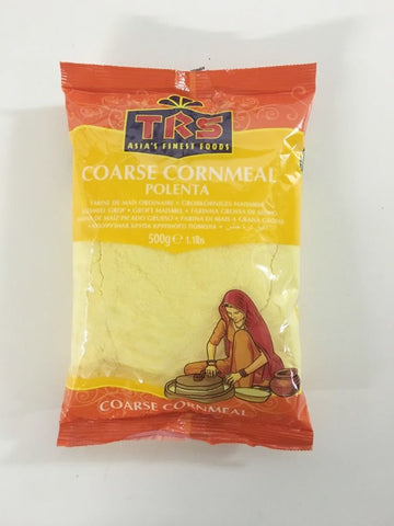 TRS Coarse Cornmeal Polenta 500 gm - Sabadda - Indian Online Grocery Store in UK