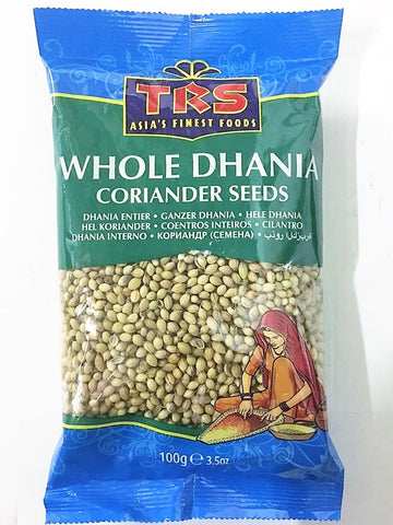 TRS Dhania Whole (Indori) 100 gm - SabAdda - Asian Grocery Store