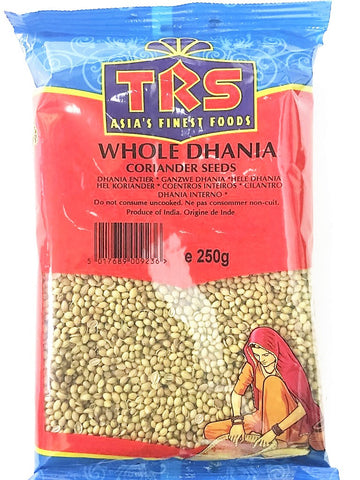 TRS Dhania Whole (Indori) 250 gm - SabAdda - Asian Grocery Store
