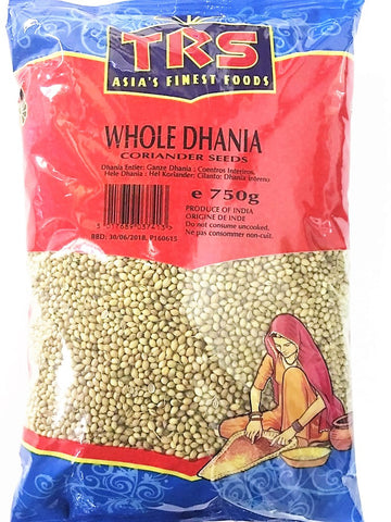 TRS Dhania Whole (Indori) 750 gm - SabAdda - Asian Grocery Store