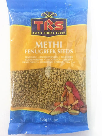 TRS Methi Fenugreek Seeds 100 gm - Sabadda - Indian Online Grocery Store in UK