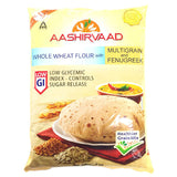 Aashirvaad Whole Wheat Flour with Multigrain and Fenugreek 5 kg - Sabadda - Indian Online Grocery Store in UK