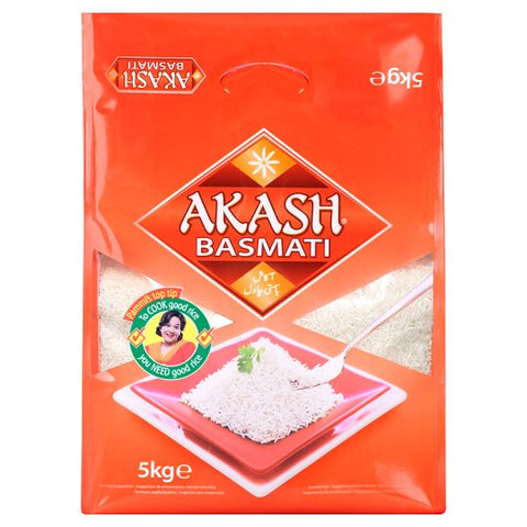 Akash Basmati Rice 5 kg - Sabadda - Indian Online Grocery Store in UK