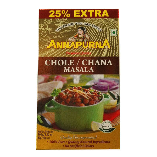 Annapurna Chole / Chana Masala 100 gm - Sabadda - Indian Online Grocery Store in UK