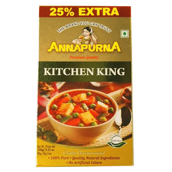 Annapurna Kitchen King 100 gm - Sabadda - Indian Online Grocery Store in UK