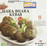 Ashoka Hara Bhara Kebab 12 Pieces 360 gm - Sabadda - Indian Online Grocery Store in UK