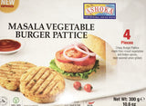 Ashoka Masala Vegetable Burger Pattice (4 Pieces) 300 gm - Sabadda - Indian Online Grocery Store in UK