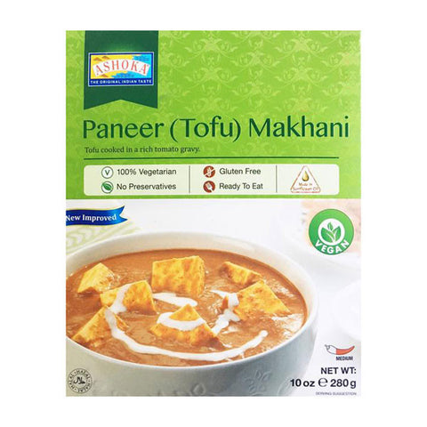 Ashoka Paneer (Tofu) Makhani 280 gm - Sabadda - Indian Online Grocery Store in UK