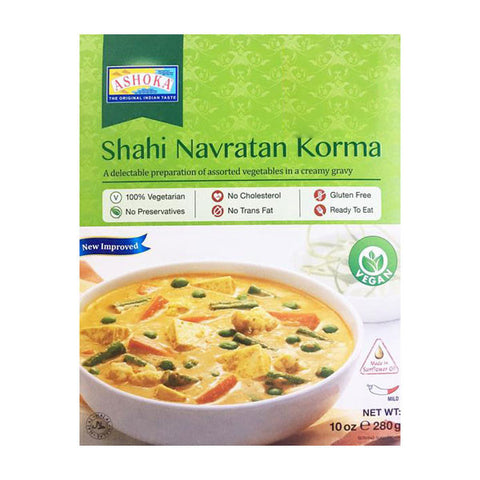 Ashoka Shahi Navratan Korma 280 gm - Sabadda - Indian Online Grocery Store in UK