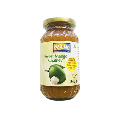 Ashoka Sweet Mango Chutney 340 gm - Sabadda - Indian Online Grocery Store in UK