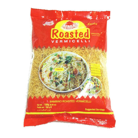 Bambino Roasted Vermicelli 180 gm - Sabadda - Indian Online Grocery Store in UK