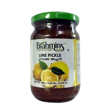 Brahmins Lime Pickle 300 gm - Sabadda - Indian Online Grocery Store in UK